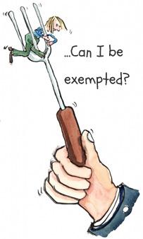 cfa exemptions