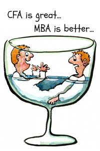 CFA or MBA