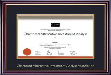 CAIA designation